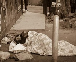 Homeless Ten Times More Likely to be Gambling Addicts