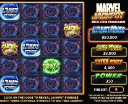 Marvel Ultimate Power Jackpot Just Paid $302,986