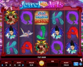 Jewel Of The Arts Slot Released from IGT Software