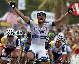 Kittel Wins First Stage of Tour de France