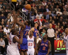 Knicks and 76ers to Play Twice in Two Days