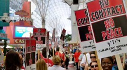 Las Vegas Culinary and Bartenders Union Threatens Strike