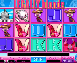 Legally Blonde Video Slots