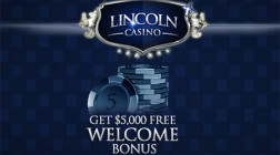 Lincoln Casino Launches With Classic Slots at $5000 Bonus
