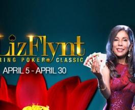 Liz Flynt Spring Poker Classic Begins Next Month