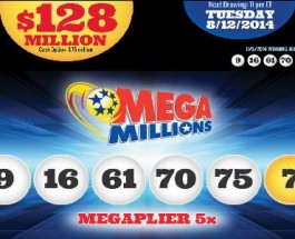 Mega millions Jackpot Reaches $128 Million for Tuesday's Draw