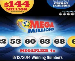 Mega Millions Rolls Over Again to Create $144 Million Jackpot on Friday