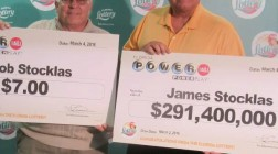Man Wins $291 Million Lottery Jackpot While His Brother Wins Just $7