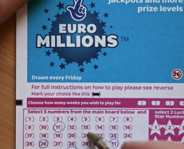 €73M EuroMillions Results for Tuesday March 31
