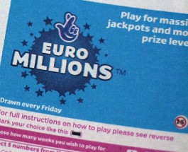 EuroMillions UK and Millionaire Raffle Jackpot Worth £77 Million on Friday