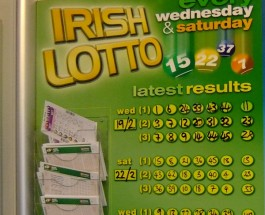 Irish Lotto Jackpot Worth €2 Million on Wednesday