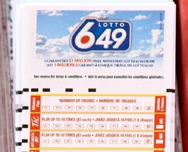 Lotto 6/49 Results for Wednesday October 29