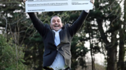 Taxi Driver Celebrates £24.5 Million Lottery Win