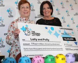 Two Best Friends Share £15 Million Lottery Win