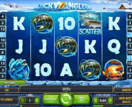 Lucky Angler: A Snowy Catch – New Slots from Net Entertainment