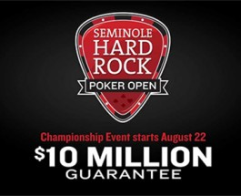 Massive Prize Pool at Seminole Hard Rock Main Event