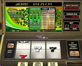 Mega Gold and Green Video Slots at 888 Casino Offers $25K