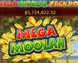 Mega Moolah Jackpot Reaches $5.5 Million