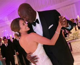 Michael Jordan Marries Yvette Prieto