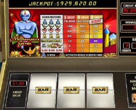 $4.6M Progressive Jackpot Offered by Millionaire Genie at 888 Casino