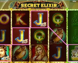 Mix the secret elixirs and win the jackpot!