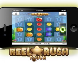 Net Entertainment Release Reel Rush Touch