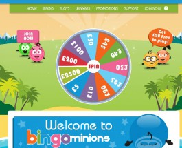 Bingo Minions Offers Top Gaming and Bonuses