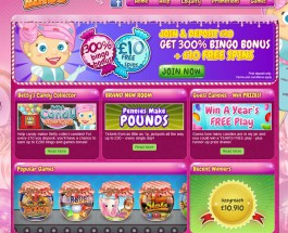 Candy Shop Bingo Brings Sweets and Bingo Together