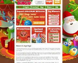 Jingle Bingo Launches Full of the Christmas Spirit