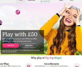 Tip Top Bingo Brings Top Quality Bingo and Side Games