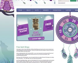 Free Spirit Bingo Offers Unencumbered Bingo Games