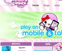 Fairy Dust Bingo Goes Live With 24/7 Free Bingo