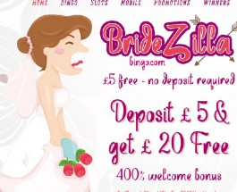 Bridezilla Bingo Offers Games Tailored to Brides to Be