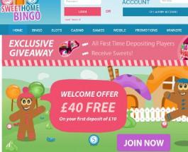 Sweet Home Bingo Offers Top Bingo and Sweet Surprises