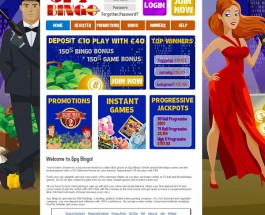 Spy Bingo Brings Glamour to the Bingo Hall