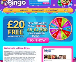 Lollipop Bingo Offers Sweet Online Bingo Games