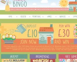 Flowerpot Bingo Takes Gaming Into the Garden
