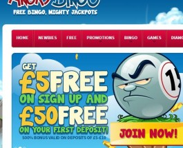 Angry Bingo Launches With Three Free Rooms