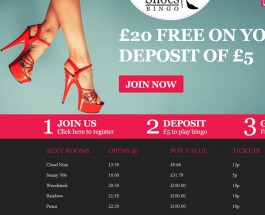 Sexy Shoes Bingo Offers Loads of Progressive Jackpots