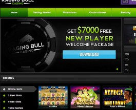Raging Bull Casino Offers Action Packed Gaming