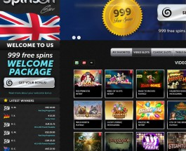 Spinson Casino Offers Hundreds of Free Spins