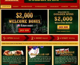 Golden Spins Casino Brings Rewarding Online Slots