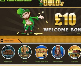 Lucky Gold Casino Claims to Be The Luckiest Online Casino