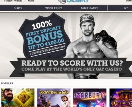 Tom's Casino is The World's First Gay Online Casino