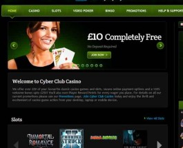 Cyber Club Casino Offers Casino and Bingo Games