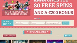 Anna Casino Brings Femininity to Online Gambling