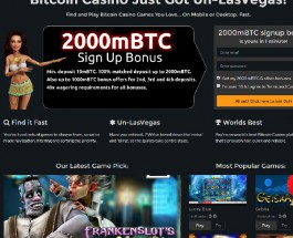 Oshi Bitcoin Casino Welcomes Bitcoin Gamblers