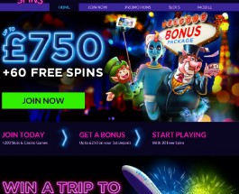 Vegas Spins Casino Brings Las Vegas to Your Home