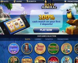 Lucky Admiral Casino Offers Seaworthy Gambling