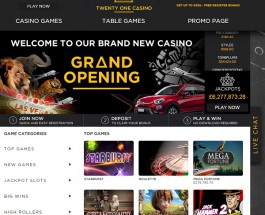 Twenty One Casino Offers High Quality Table Games
